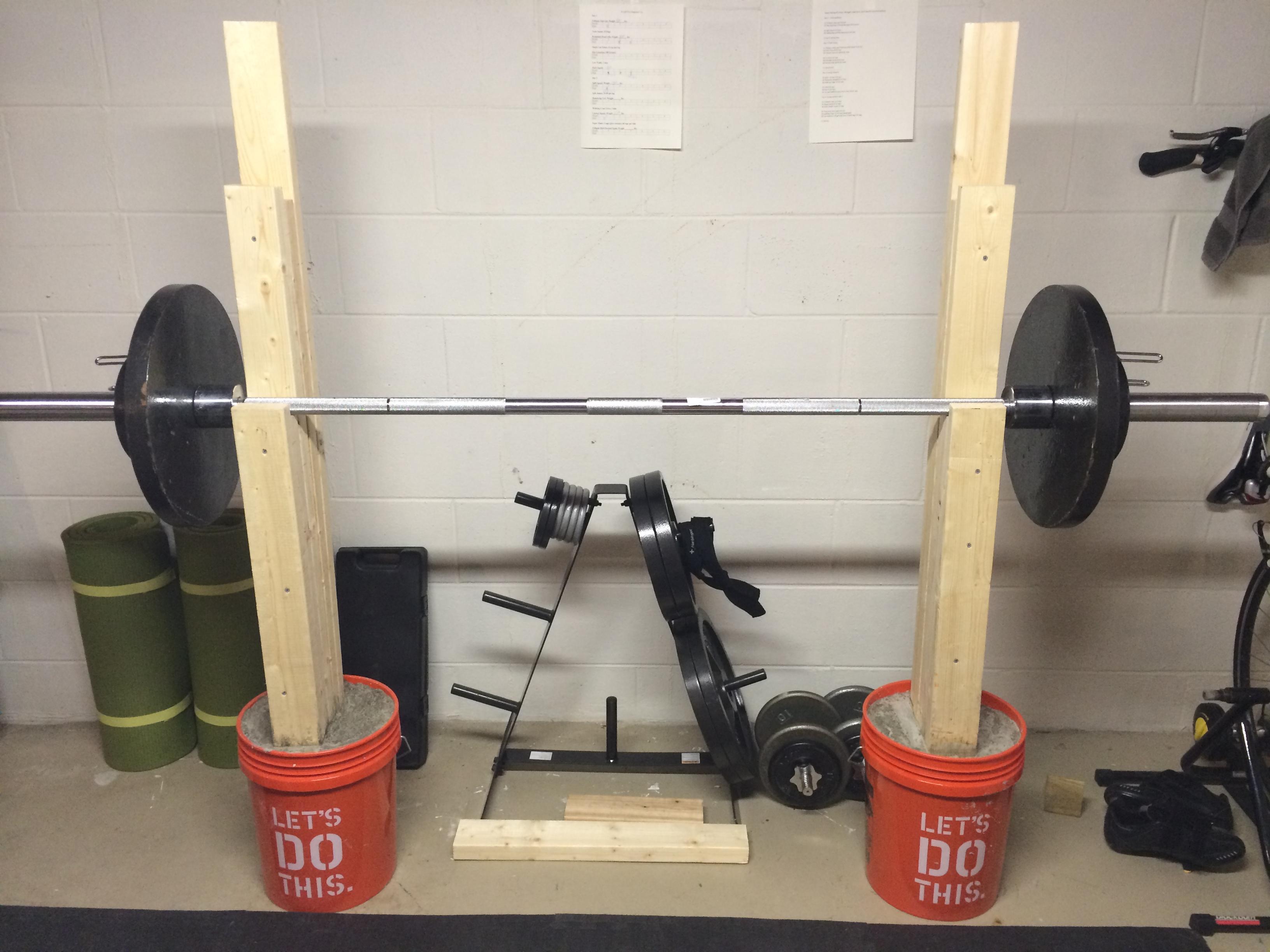 Ideas homemade weight bench plans big idea for Homemade weight rack plans